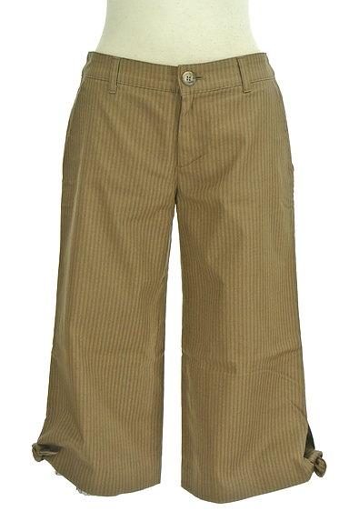 Rouge vif La cle(ルージュヴィフラクレ)の古着「ストライプ柄ミモレパンツ(パンツ)」大画像1へ