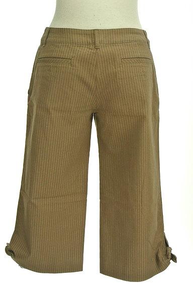 Rouge vif La cle(ルージュヴィフラクレ)の古着「ストライプ柄ミモレパンツ(パンツ)」大画像2へ