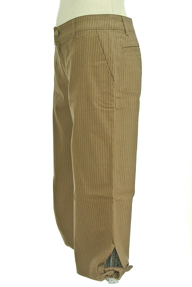 Rouge vif La cle(ルージュヴィフラクレ)の古着「ストライプ柄ミモレパンツ(パンツ)」大画像3へ