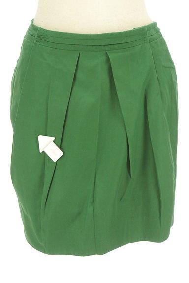 Rouge vif La cle(ルージュヴィフラクレ)の古着「タックタイトカラーミニスカート(ミニスカート)」大画像4へ