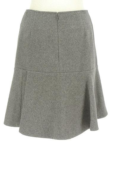 Rouge vif La cle(ルージュヴィフラクレ)の古着「ペプラムフリルウールミニスカート(ミニスカート)」大画像2へ
