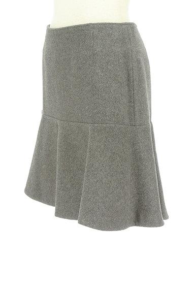 Rouge vif La cle(ルージュヴィフラクレ)の古着「ペプラムフリルウールミニスカート(ミニスカート)」大画像3へ
