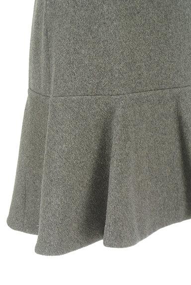 Rouge vif La cle(ルージュヴィフラクレ)の古着「ペプラムフリルウールミニスカート(ミニスカート)」大画像4へ