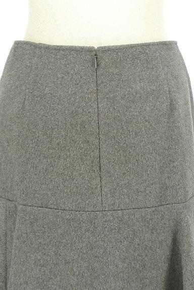 Rouge vif La cle(ルージュヴィフラクレ)の古着「ペプラムフリルウールミニスカート(ミニスカート)」大画像5へ
