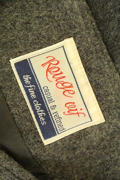 Rouge vif La cle(ルージュヴィフラクレ)の古着「ペプラムフリルウールミニスカート(ミニスカート)」大画像6へ