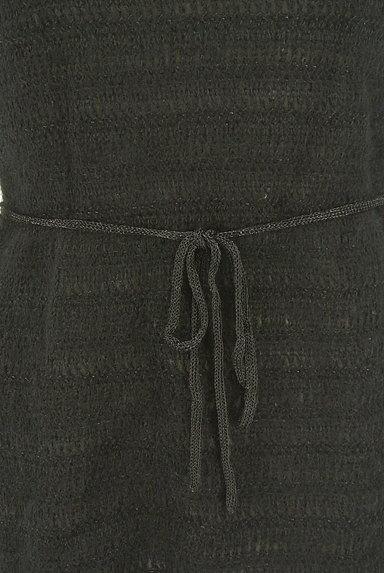 LOUNIE(ルーニィ)の古着「モヘヤ切替ニットワンピース(ワンピース・チュニック)」大画像5へ