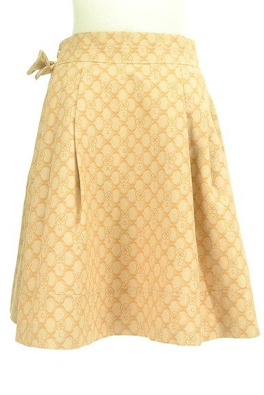 CLATHAS(クレイサス)の古着「ウエストリボン総柄スカート(スカート)」大画像2へ