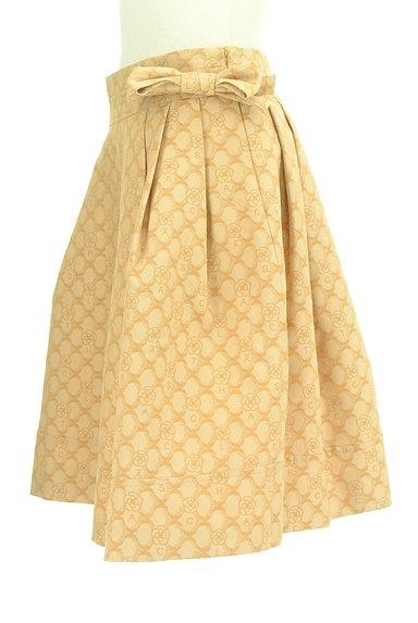 CLATHAS(クレイサス)の古着「ウエストリボン総柄スカート(スカート)」大画像3へ