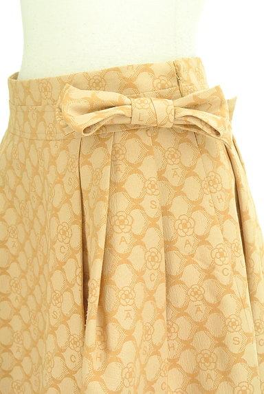 CLATHAS(クレイサス)の古着「ウエストリボン総柄スカート(スカート)」大画像4へ