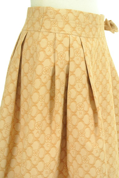 CLATHAS(クレイサス)の古着「ウエストリボン総柄スカート(スカート)」大画像5へ