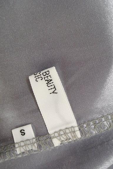 NATURAL BEAUTY BASIC(ナチュラルビューティベーシック)の古着「ボーダータイト膝丈スカート(スカート)」大画像6へ