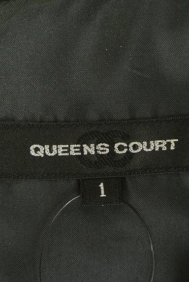 QUEENS COURT(クイーンズコート)の古着「ビジュー&パールミニワンピース(ワンピース・チュニック)」大画像6へ