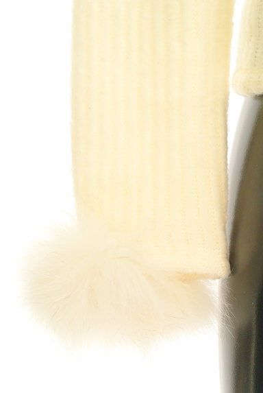 L'EST ROSE(レストローズ)の古着「ファー袖ニットトップス(ニット)」大画像4へ