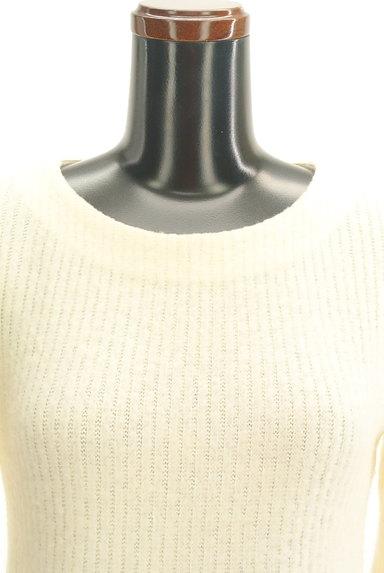 L'EST ROSE(レストローズ)の古着「ファー袖ニットトップス(ニット)」大画像5へ