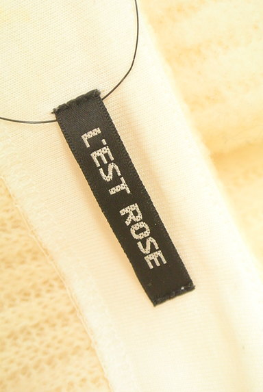L'EST ROSE(レストローズ)の古着「ファー袖ニットトップス(ニット)」大画像6へ
