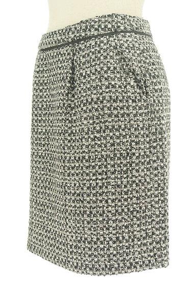 MISCH MASCH(ミッシュマッシュ)の古着「ラメツイードタイトスカート(スカート)」大画像3へ