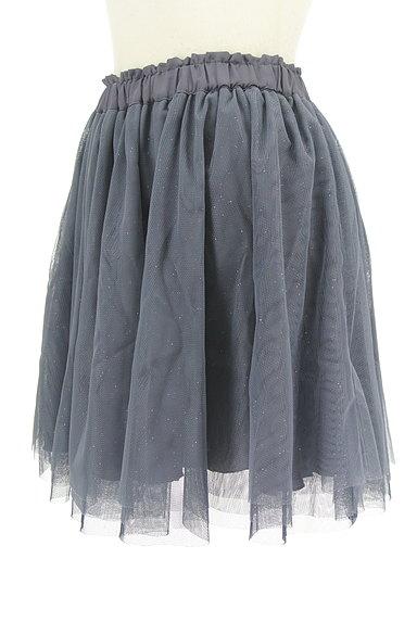 WILLSELECTION(ウィルセレクション)の古着「シアーラメチュールミニスカート(ミニスカート)」大画像3へ