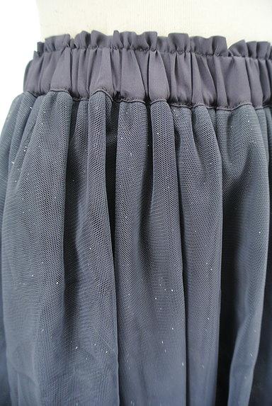 WILLSELECTION(ウィルセレクション)の古着「シアーラメチュールミニスカート(ミニスカート)」大画像4へ