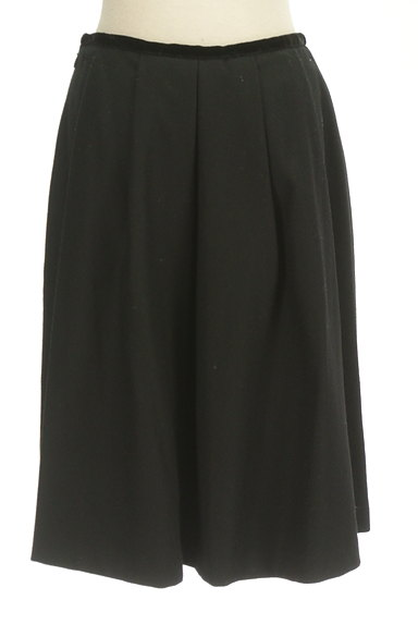M-premier(エムプルミエ)の古着「タックフレアウールスカート(スカート)」大画像2へ