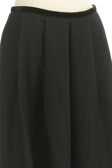 M-premier(エムプルミエ)の古着「タックフレアウールスカート(スカート)」大画像4へ