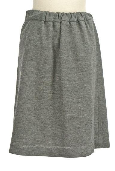 NATURAL BEAUTY(ナチュラルビューティ)の古着「セミフレアウールスカート(スカート)」大画像2へ