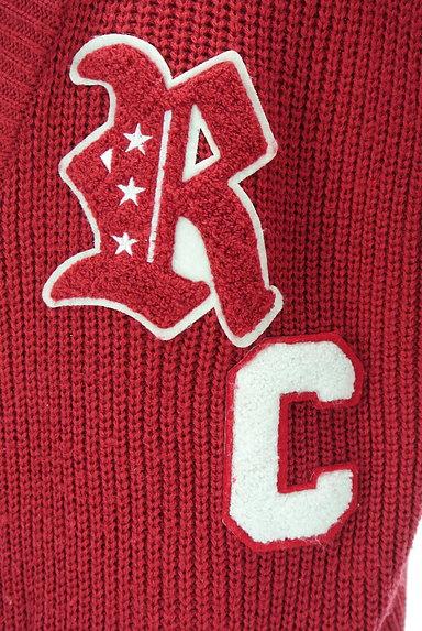 RODEO CROWNS(ロデオクラウン)の古着「ロゴワッペンロングカーディガン(カーディガン・ボレロ)」大画像4へ
