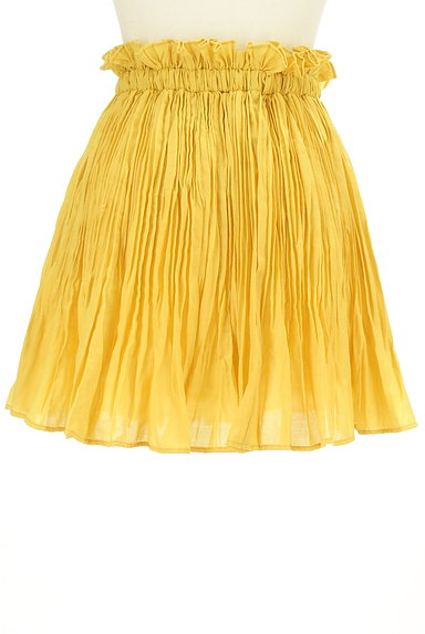 BEAMS Women's(ビームス ウーマン)の古着「プリーツフレアカラースカート(スカート)」大画像2へ