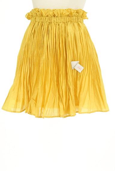 BEAMS Women's(ビームス ウーマン)の古着「プリーツフレアカラースカート(スカート)」大画像4へ