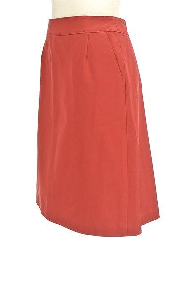 TOMORROWLAND(トゥモローランド)の古着「ミディ丈光沢セミフレアスカート(スカート)」大画像3へ