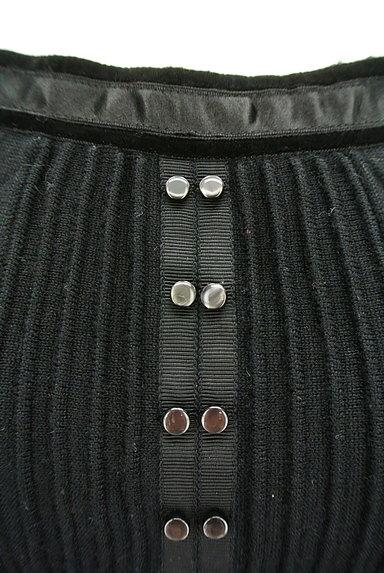 NEW YORKER(ニューヨーカー)の古着「ベロアライン装飾ニット(ニット)」大画像4へ