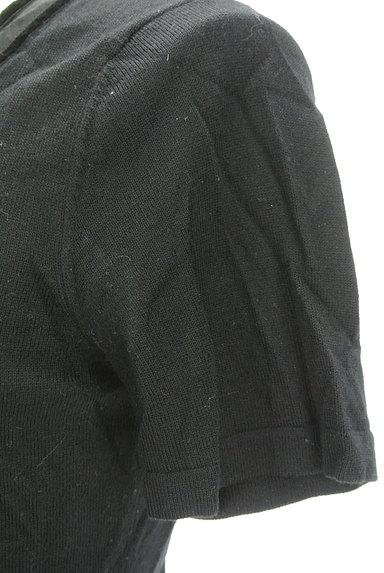 NEW YORKER(ニューヨーカー)の古着「ベロアライン装飾ニット(ニット)」大画像5へ