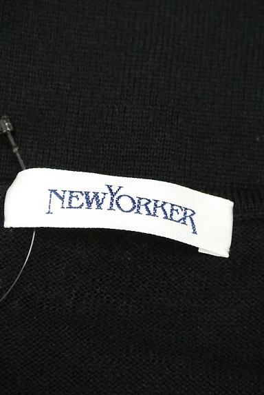 NEW YORKER(ニューヨーカー)の古着「ベロアライン装飾ニット(ニット)」大画像6へ