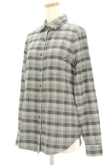 SLY(スライ)の古着「チェック柄フランネルシャツ(カジュアルシャツ)」大画像3へ