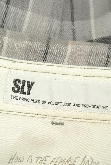 SLY(スライ)の古着「チェック柄フランネルシャツ(カジュアルシャツ)」大画像6へ