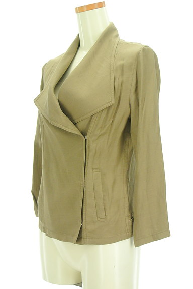 VICKY(ビッキー)の古着「ビッグカラー七分袖ジャケット(ジャケット)」大画像3へ