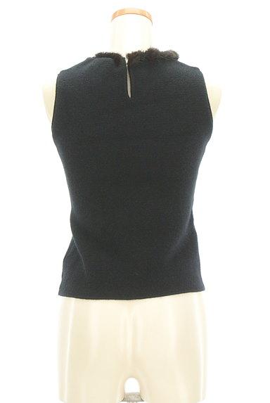 STRAWBERRY-FIELDS(ストロベリーフィールズ)の古着「襟ぐりファーニット(ニット)」大画像2へ