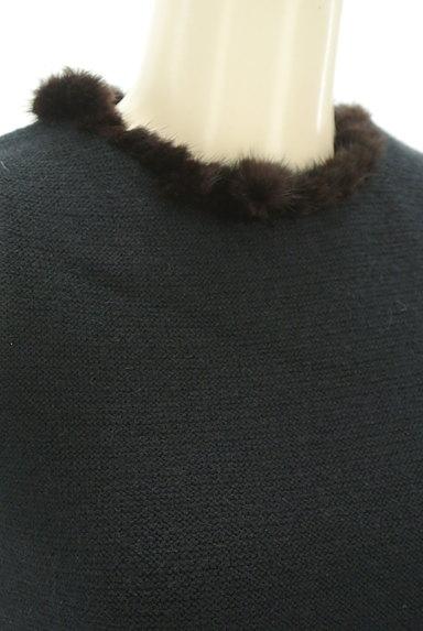 STRAWBERRY-FIELDS(ストロベリーフィールズ)の古着「襟ぐりファーニット(ニット)」大画像4へ