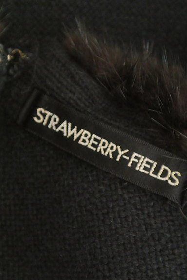 STRAWBERRY-FIELDS(ストロベリーフィールズ)の古着「襟ぐりファーニット(ニット)」大画像6へ