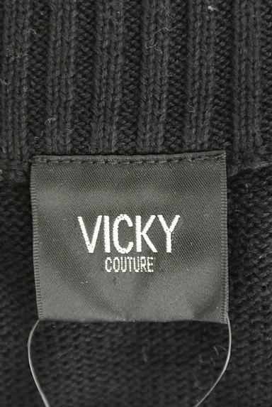 VICKY(ビッキー)の古着「オープンカラーニット(ニット)」大画像6へ