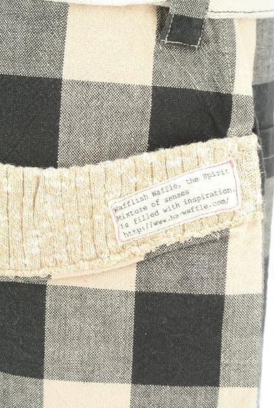 Wafflish Waffle(ワッフリッシュワッフル)の古着「チェック柄ミニスカート(ミニスカート)」大画像4へ
