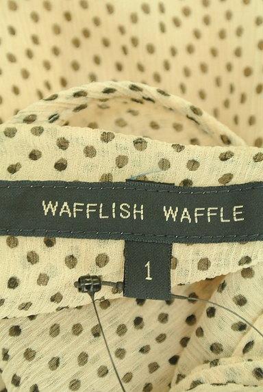 Wafflish Waffle(ワッフリッシュワッフル)の古着「マルチドットシフォンカットソー(カットソー・プルオーバー)」大画像6へ