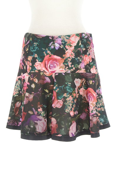PATRIZIA PEPE(パトリッツィアペペ)の古着「花柄フレアミニスカート(ミニスカート)」大画像1へ