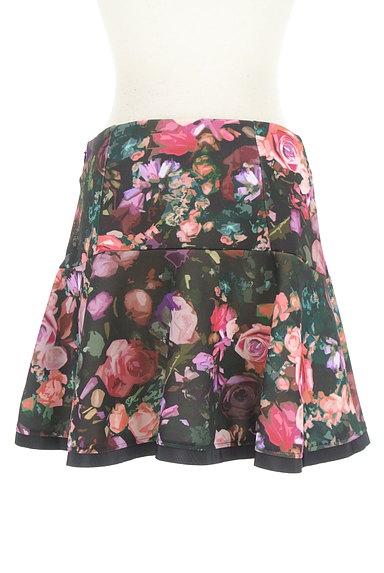 PATRIZIA PEPE(パトリッツィアペペ)の古着「花柄フレアミニスカート(ミニスカート)」大画像2へ