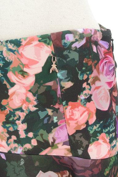 PATRIZIA PEPE(パトリッツィアペペ)の古着「花柄フレアミニスカート(ミニスカート)」大画像4へ