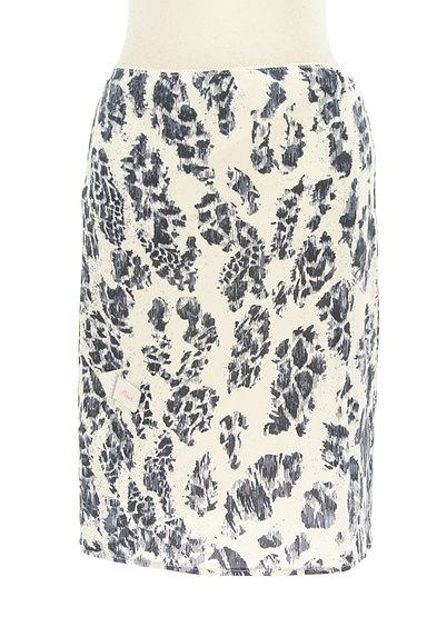 PF by PAOLA FRANI(ピーエッフェバイパオラフラーニ)の古着「総柄タイトスカート(スカート)」大画像4へ