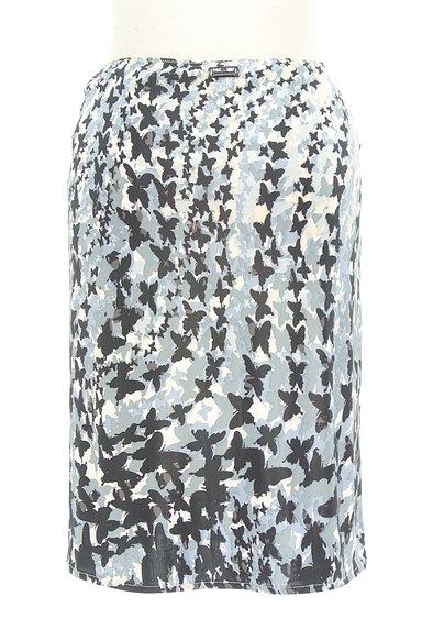 PF by PAOLA FRANI(ピーエッフェバイパオラフラーニ)の古着「グラデ蝶柄タイトスカート(スカート)」大画像2へ
