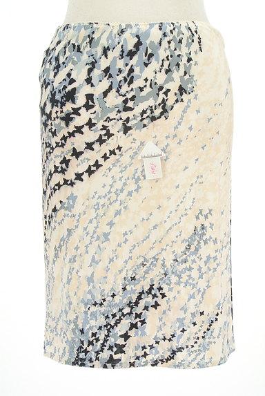 PF by PAOLA FRANI(ピーエッフェバイパオラフラーニ)の古着「グラデ蝶柄タイトスカート(スカート)」大画像4へ