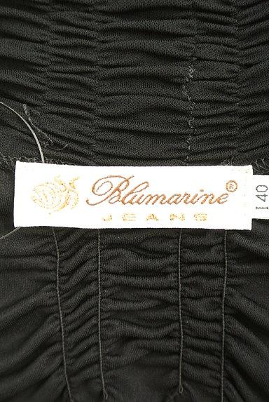 Blumarine(ブルマリン)の古着「切替ペプラムロングベアトップ(キャミソール・タンクトップ)」大画像6へ