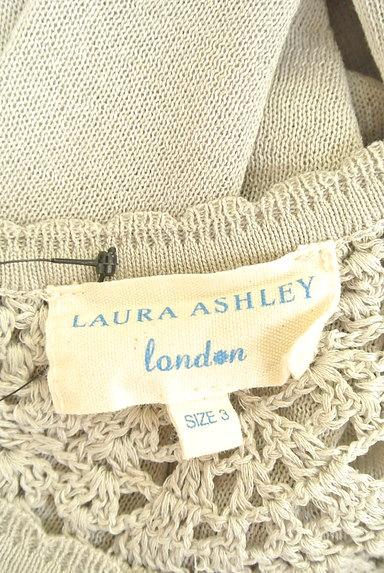 Laura Ashley(ローラアシュレイ)の古着「シアー襟ショートカーディガン(カーディガン・ボレロ)」大画像6へ