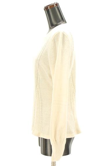 Laura Ashley(ローラアシュレイ)の古着「ケーブル編み&リブニットトップス(ニット)」大画像3へ